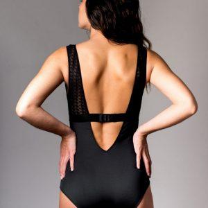 Body made in France femme avec fond en coton bio sexy Sans Prétention