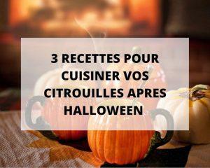 Des recettes faciles de citrouilles pour Halloween