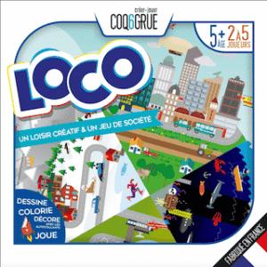 Modèle jeu de bataille à personnaliser de la marque Coq6grue pour les enfants de moins de 6 ans à offrir pour un noël éthique