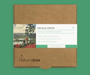 Carte Cadeau pour offrir un séjour en famille ou en amoureux dans un univers éco-responsable et respectant la nature de la marque Naturabox pour un noël ecologique