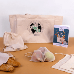Modèle box Pousse Pousse à offrir pour Noël pour obtenir tout ce qu'il faut pour un quotidien 100% écolo