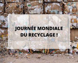 Lingerie en fibres recyclées, recyclage, partenariat vous faisant gagner de l'argent, nos actions pour la journée mondiale du recyclage
